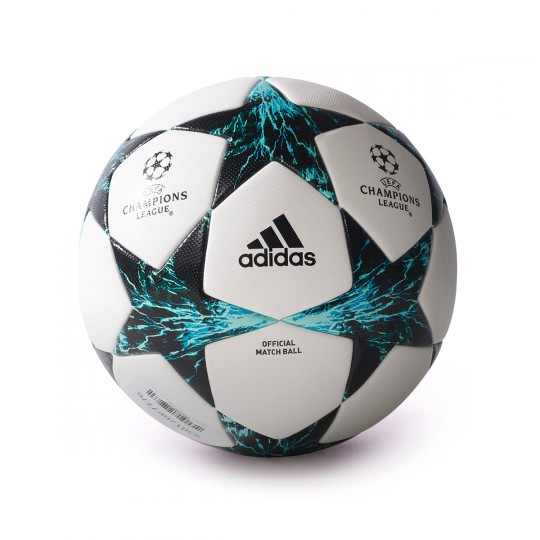 Balón  adidas Finale 17 OMB White-Black-Deep blue sea