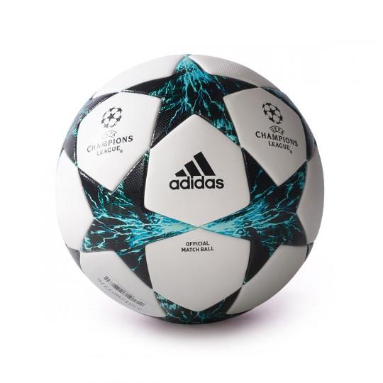 Bola de Futebol adidas Finale 17 OMB White-Black-Deep blue sea - Loja de  futebol Fútbol Emotion 7eb2060e0e5e9