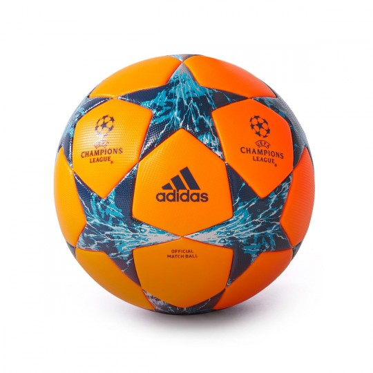Balón  adidas Finale 17 OMB Solar orange-Mystery petrol-Blue night