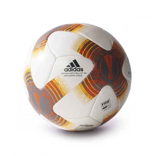 Balón  adidas UEL OMB White-Orange-Yellow