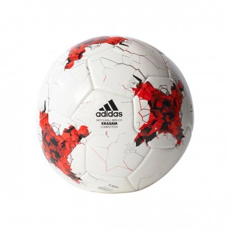 Balón  adidas FEF Competition White-Red-Clear grey