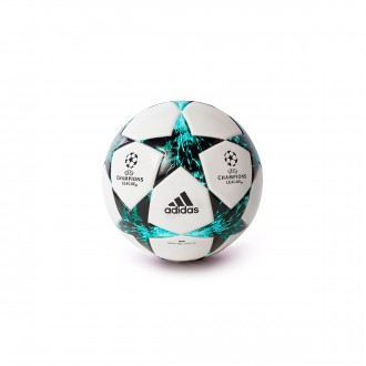 Bola de Futebol  adidas Finale 17 mini White-Black-Deep blue sea