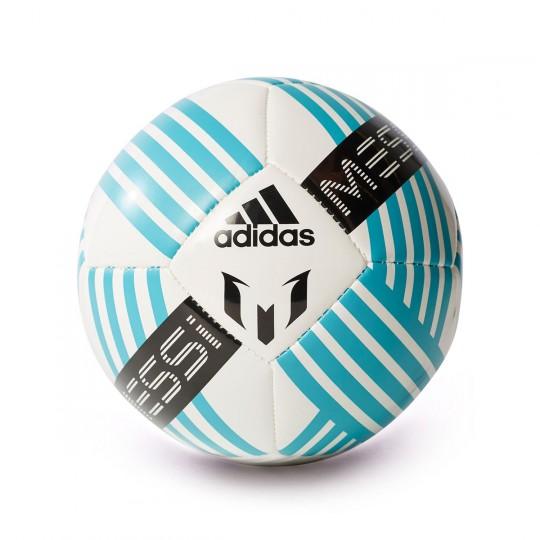 Balón  adidas Messi mini Glider White-Deep blue sea