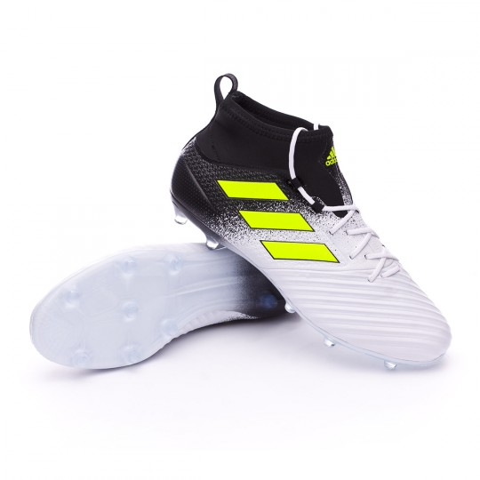 Chuteira  adidas Ace 17.2 Primemesh FG White-Solar yellow-Core black
