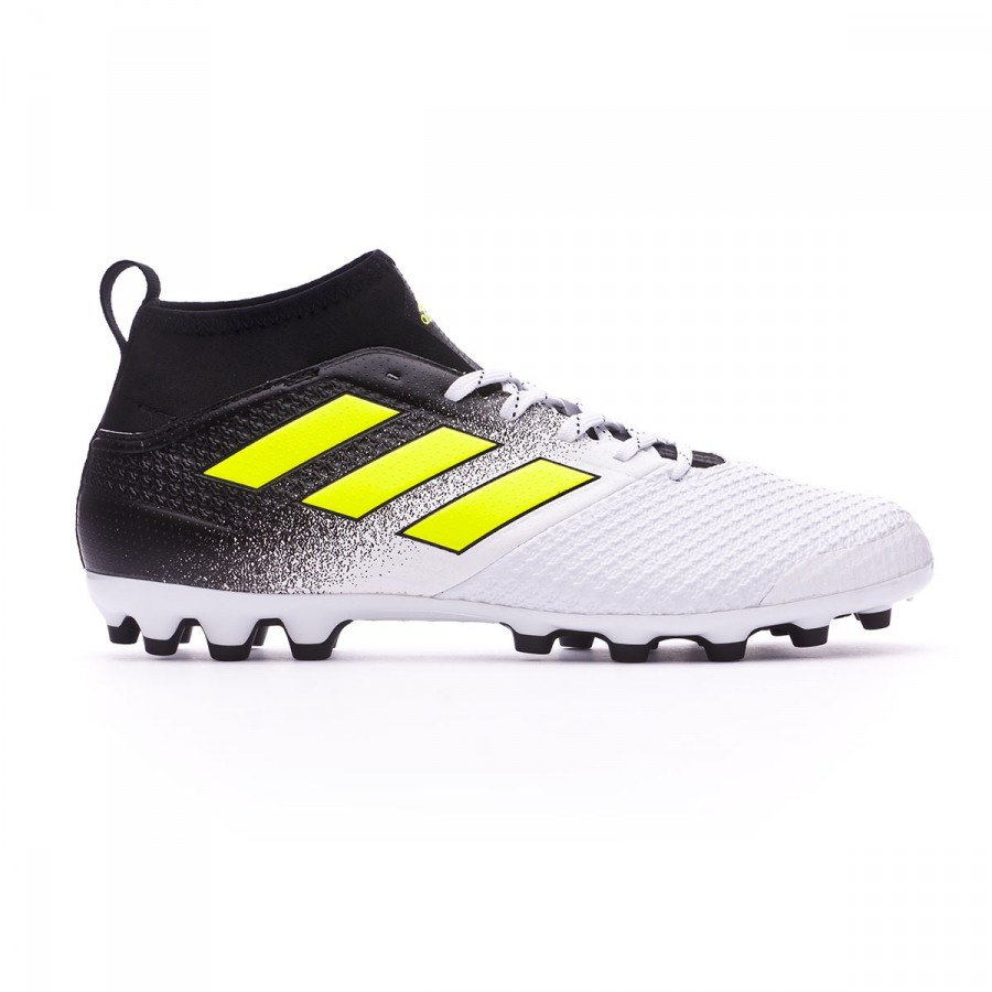 cee99ff0d388 Football Boots adidas Ace 17.3 AG White-Solar yellow-Core black - Football  store Fútbol Emotion