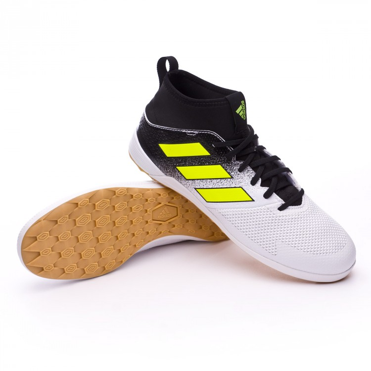 9c9cf390204b Futsal Boot adidas Ace Tango 17.3 IN White-Solar yellow-Core black ...