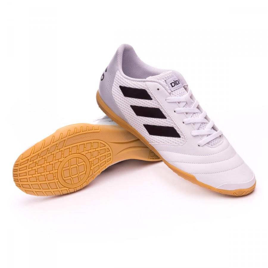 Tenis adidas Ace 17.4 Sala White-Core black-Core legre ... c3f8493e6a64c