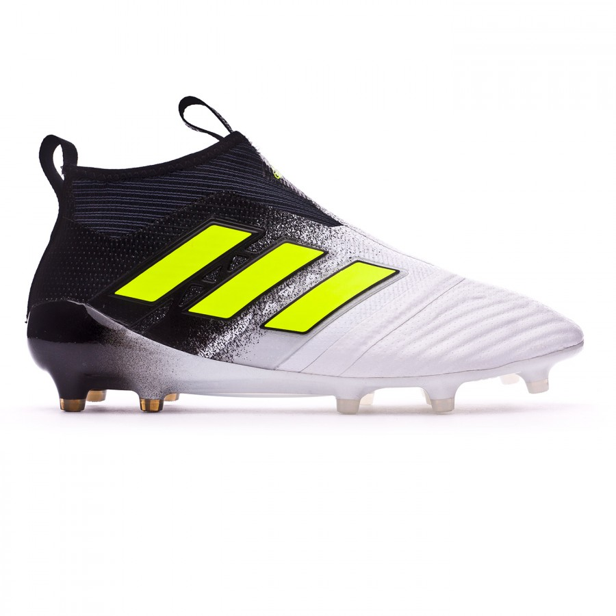 premium selection 4c158 04130 ... Bota Ace 17+ Purecontrol FG White-Solar yellow-Core black. CATEGORY.  Football boots · adidas football boots
