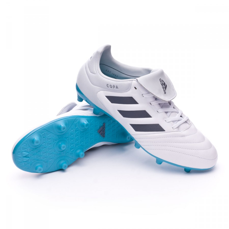 dcb738394130 Football Boots adidas Copa 17.3 FG White-Onix-Clear grey - Football ...