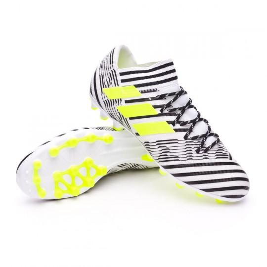 Chaussure  adidas Nemeziz 17.3 AG White-Solar yellow-Core black