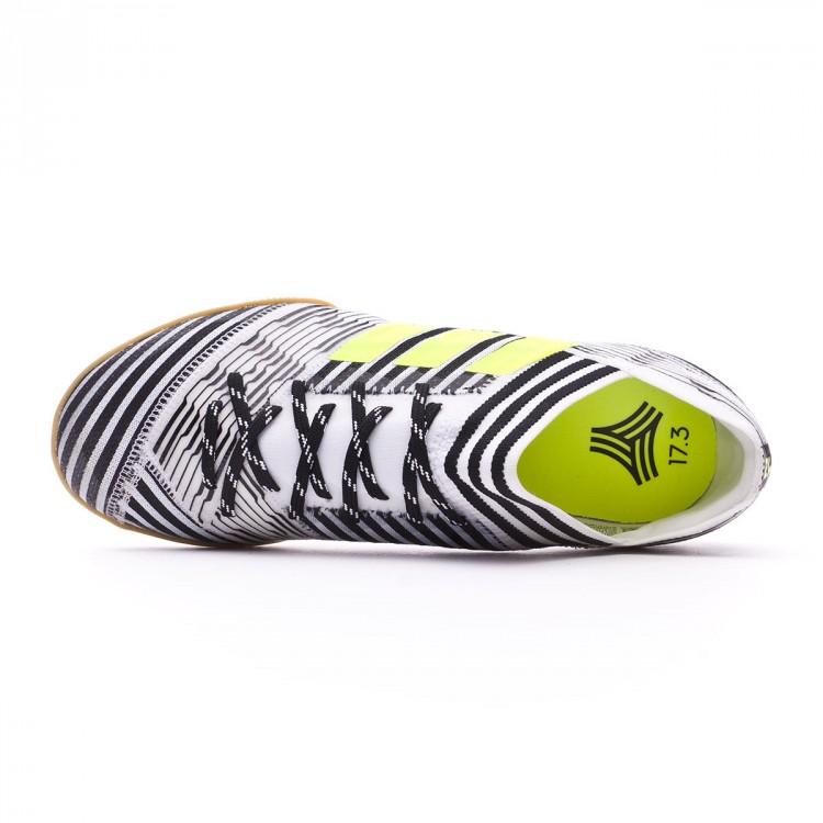 Futsal Boot adidas Nemeziz Tango 17.3 IN White-Solar yellow-Core ... 5505ed966