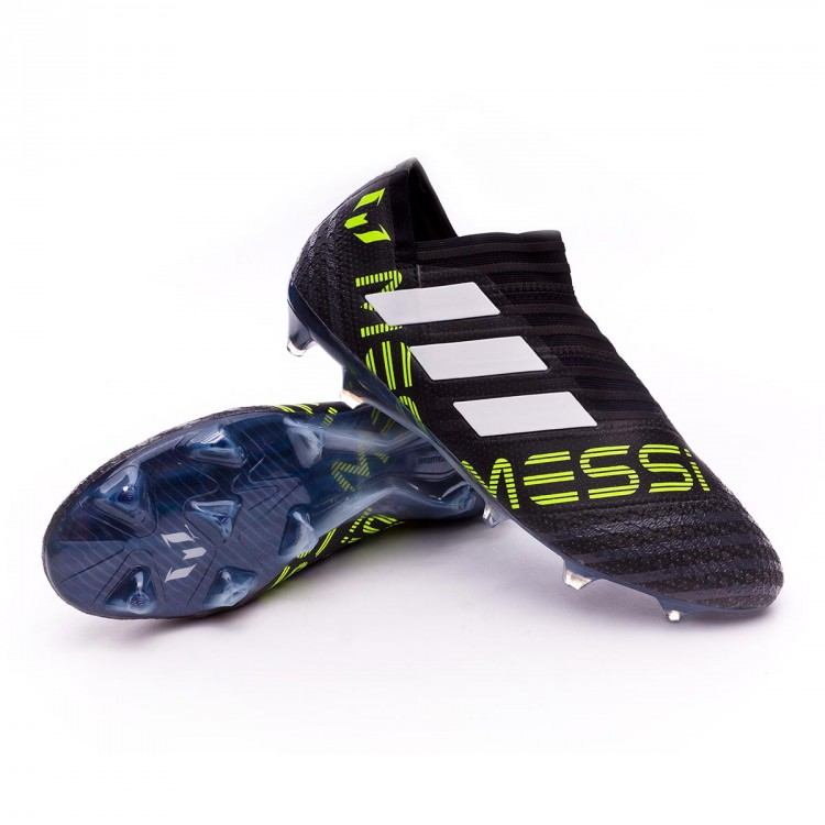 Bota Nemeziz Messi 17+ 360 Agility FG Core black White Solar yellow