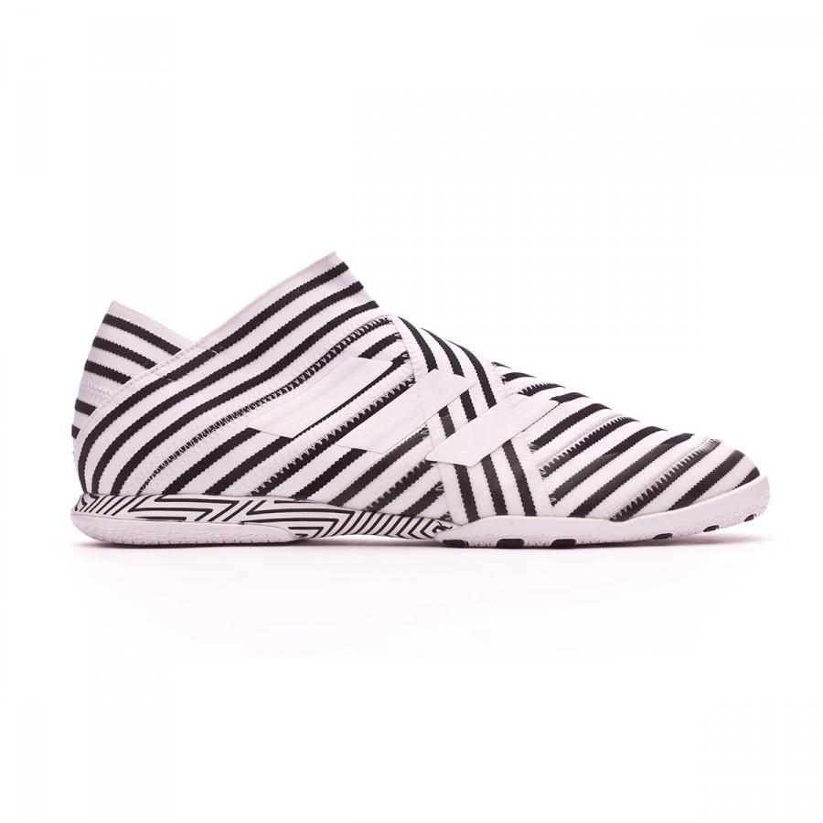 Chaussure de futsal adidas Nemeziz Tango 17+ 360 Agility IN Blanc