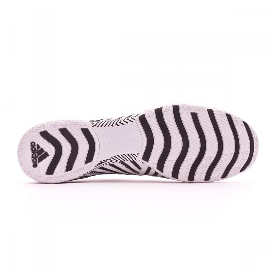 6390781da58a Futsal Boot adidas Nemeziz Tango 17+ 360 Agility IN White-Core black -  Football store Fútbol Emotion