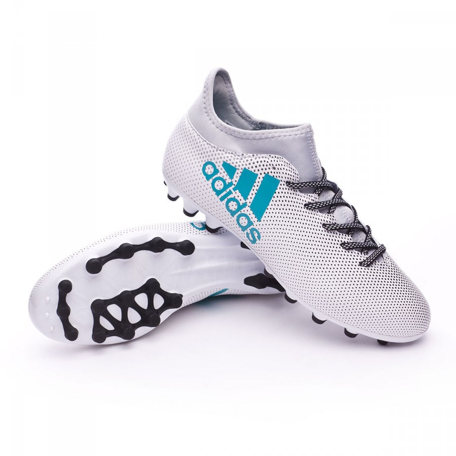Botas adidas X 17.3 Football AG Blanco Energy Azul Clear Gris Football 17.3 store 92b866