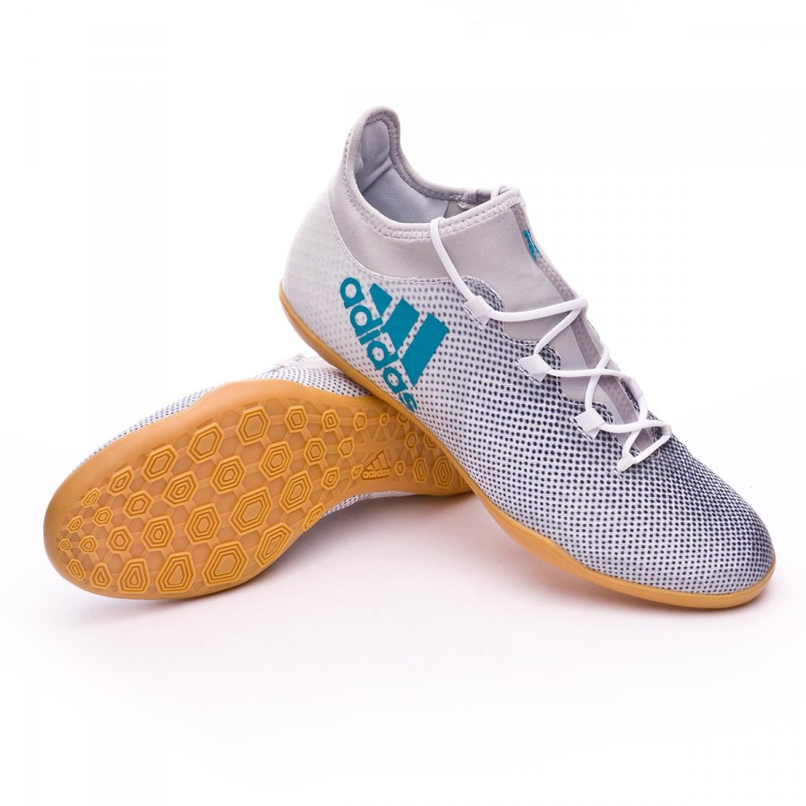 Persuasión Imposible capa  Futsal Boot adidas X Tango 17.3 IN White-Energy blue-Core black - Football  store Fútbol Emotion