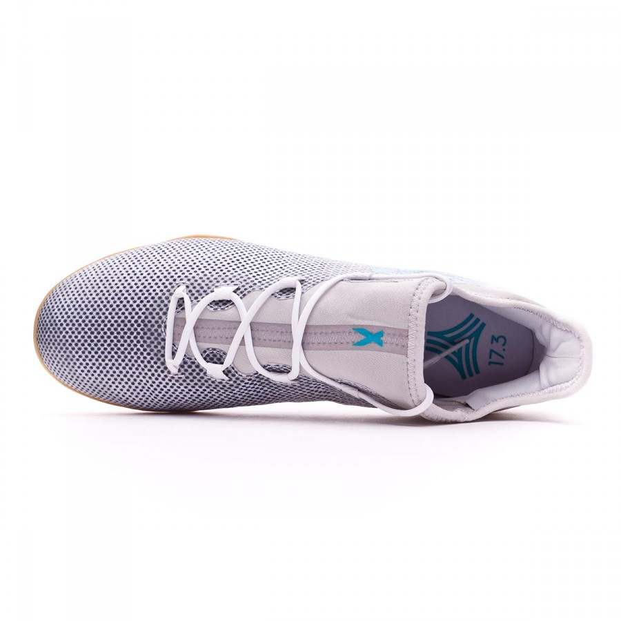 aeddaccfc4d2e5 Futsal Boot adidas X Tango 17.3 IN White-Energy blue-Core black - Football  store Fútbol Emotion