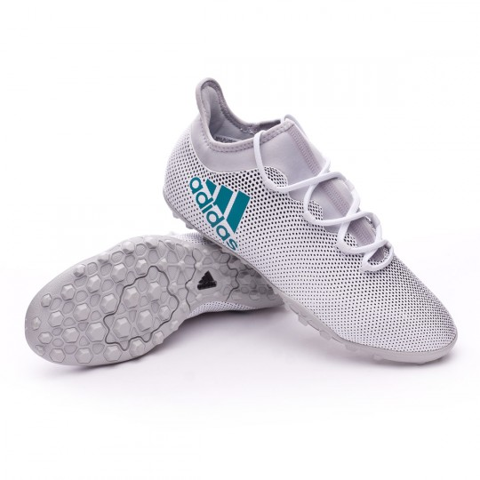 Chaussure  adidas X Tango 17.3 Turf White-Energy blue-Core black