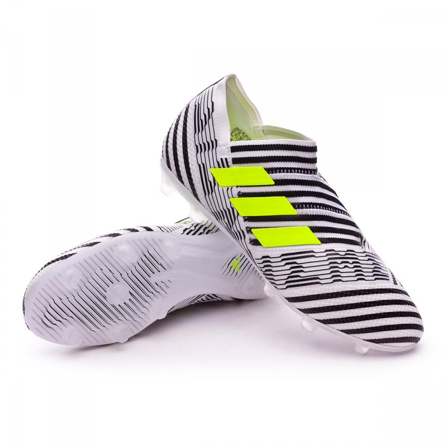 d21143a2292c Football Boots adidas Kids Nemeziz 17+ 360 Agility FG White-Solar ...