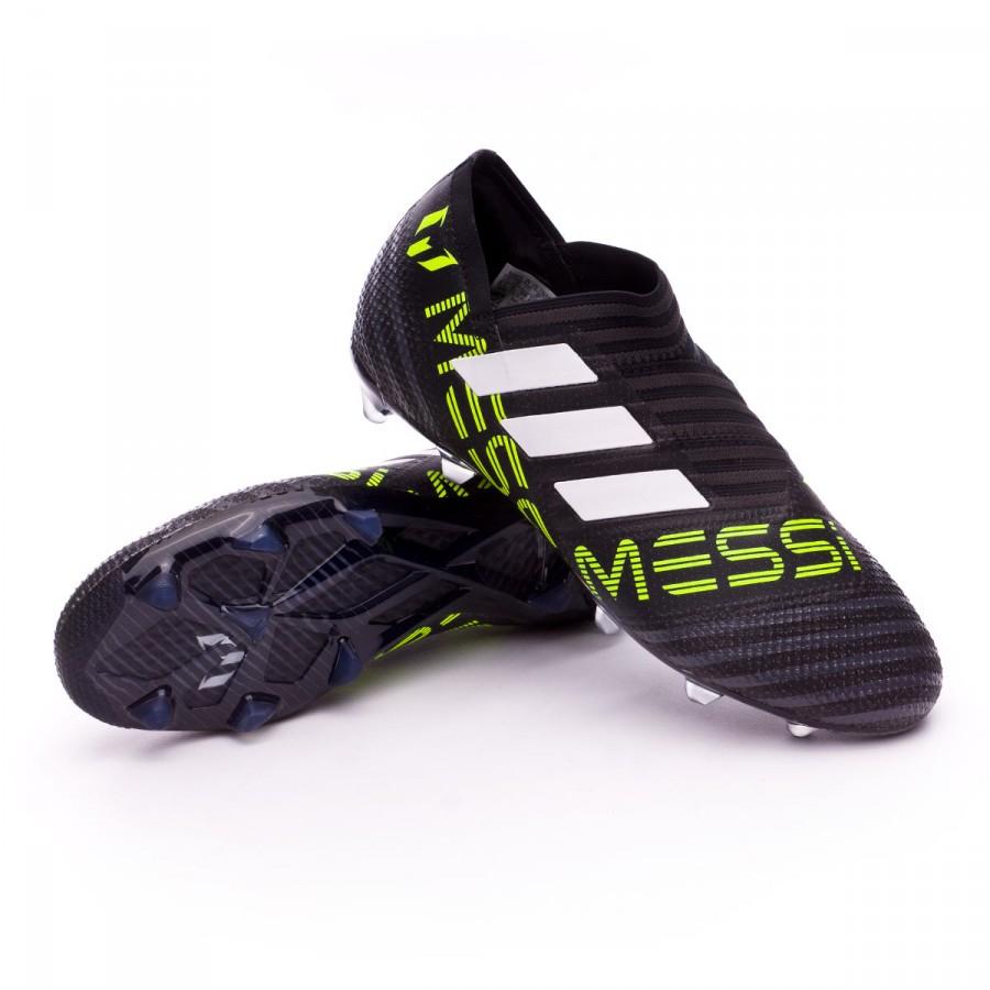 6834c7623 adidas Kids Nemeziz Messi 17+ 360 Agility FG Football Boots. White-Solar  yellow-Core black ...