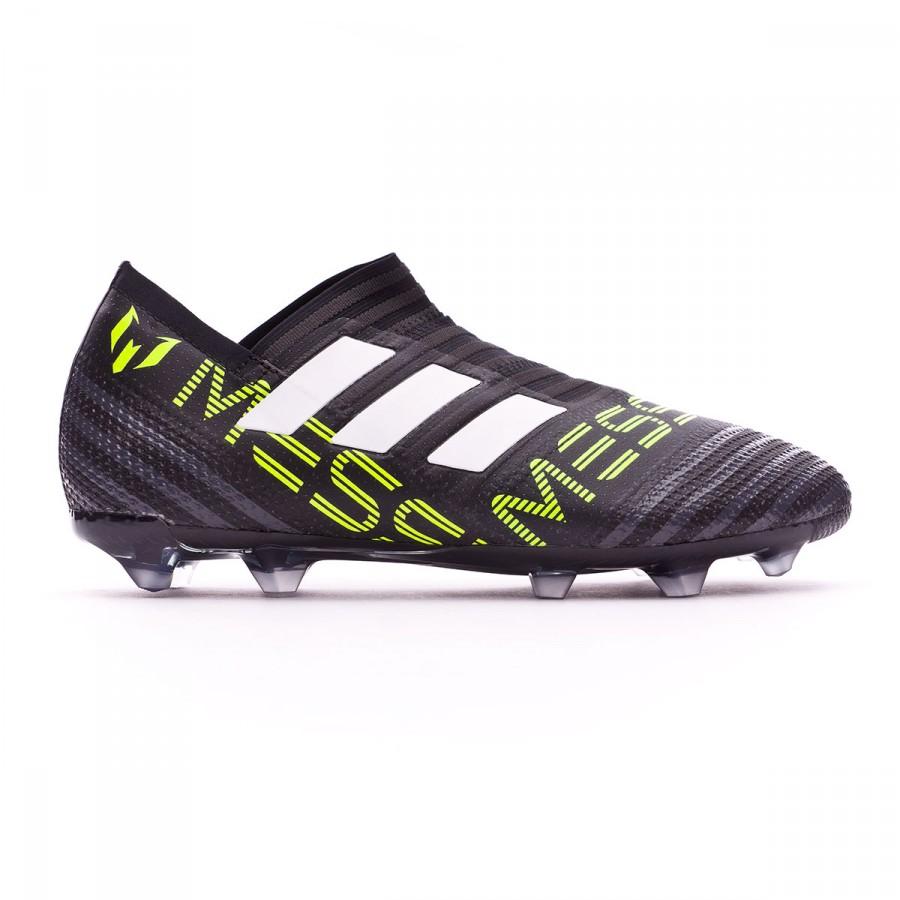 791c337ef Football Boots adidas Kids Nemeziz Messi 17+ 360 Agility FG White-Solar  yellow-Core black - Football store Fútbol Emotion
