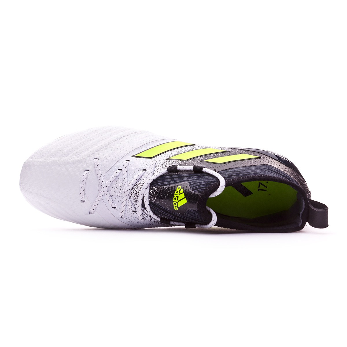 a9e7d0540 Football Boots adidas Ace 17.1 Primeknit SG White-Solar yellow-Core black -  Tienda de fútbol Fútbol Emotion