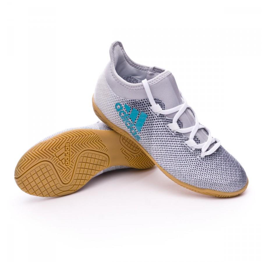 Chaussure Tango de futsal adidas Jr X Tango Chaussure IN Blanc Energy Bleu 2af247