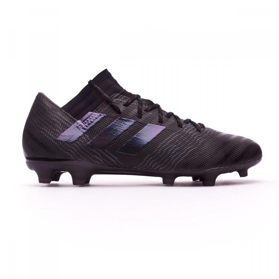 5d3a3a6e027bc Zapatos de fútbol adidas Nemeziz 17.3 FG Core black-Utility black - Tienda  de fútbol Fútbol Emotion