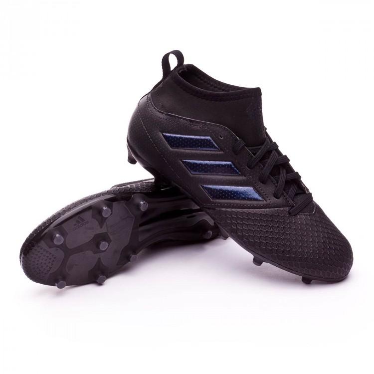 4b833bfcd6fb Zapatos de fútbol adidas Ace 17.3 FG Niño Core black - Soloporteros ...
