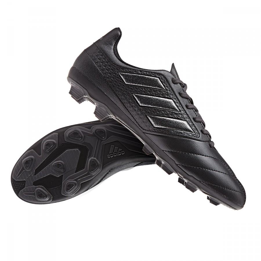 a4741c26a25 Boot adidas Jr Ace 17.4 FxG Core black- Utility black - Football ...