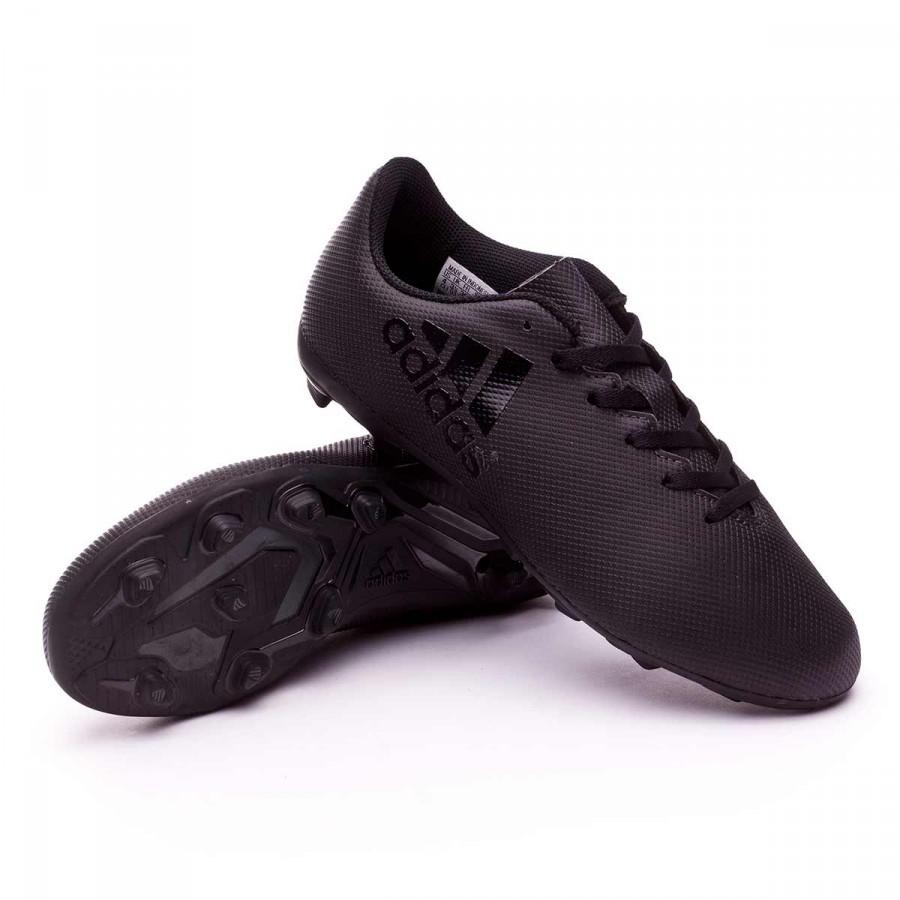 Boot adidas Jr X 17.4 FxG Core black- Utility black - Football store ... 24392fca2