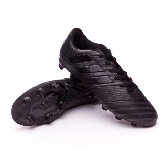 Bota  adidas Nemeziz 17.4 FxG Core black-Utility black