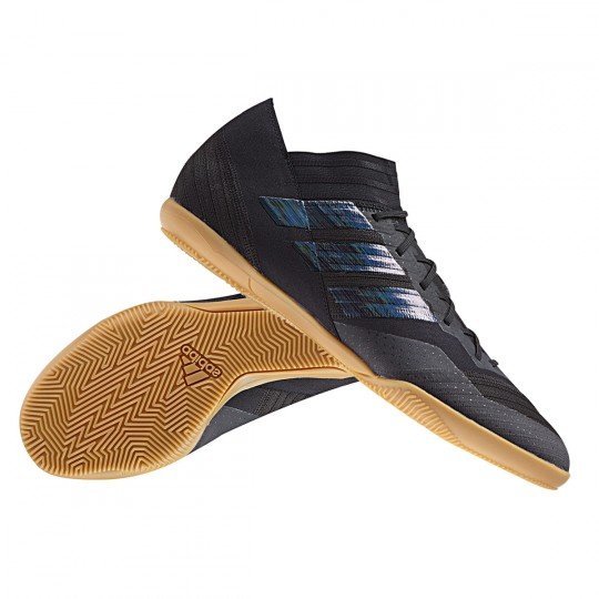 e8ff0a7de931 Futsal Boot adidas Nemeziz Tango 17.3 IN Core black-Utility black -  Football store Fútbol Emotion