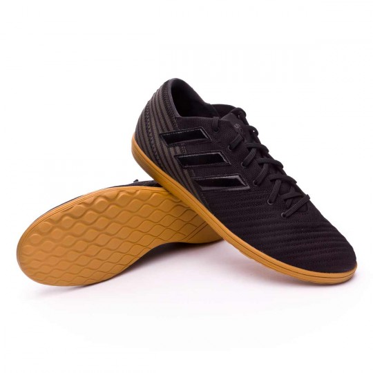 Sapatilha de Futsal  adidas Nemeziz 17.4 IN Sala Core black-Utility black