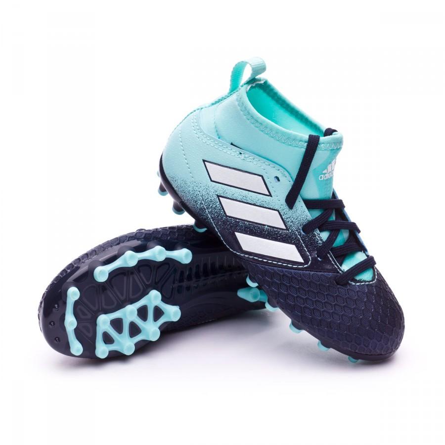 e05c900d5cbbf2 Football Boots adidas Kids Ace 17.3 AG Energy agua-White-Legend ink ...