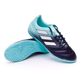 Zapatilla  adidas Ace 17.4 IN Niño Energy agua-White-Legend ink