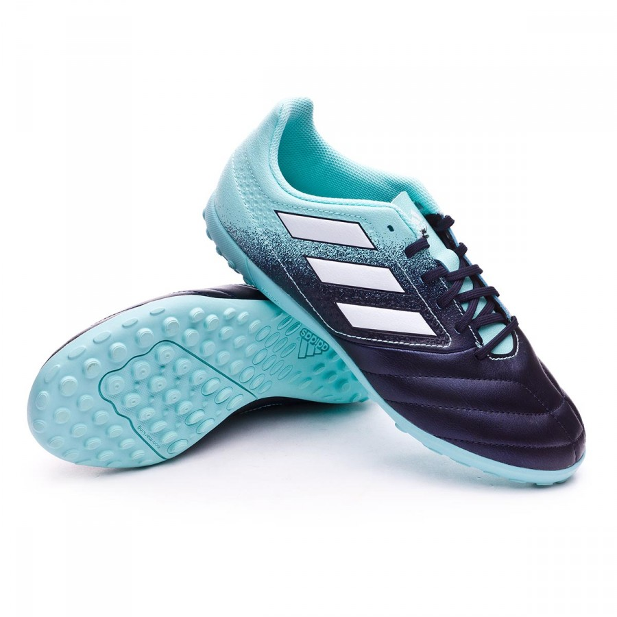 Tenis adidas Ace 17.4 Turf Niño Legend ink-White-Energy aqua ... 805562ac022e8