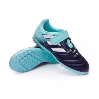 Zapatilla  adidas Ace 17.4 Turf H&L Niño Energy agua-White-Legend ink