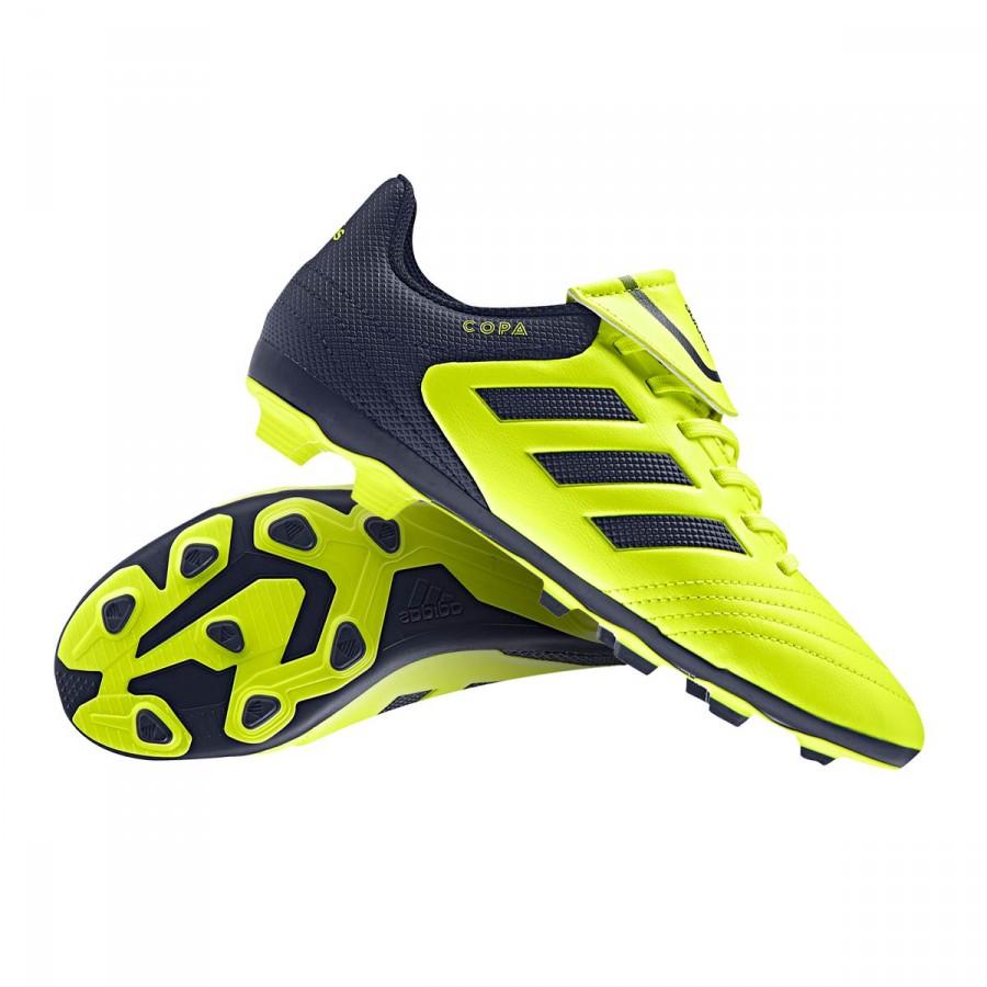 e88050595 Football Boots adidas Jr Copa 17.4 FxG Solar yellow-Legend ink ...