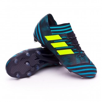 Bota  adidas Nemeziz 17.1 FG Niño Legend ink-Solar yellow-Energy blue