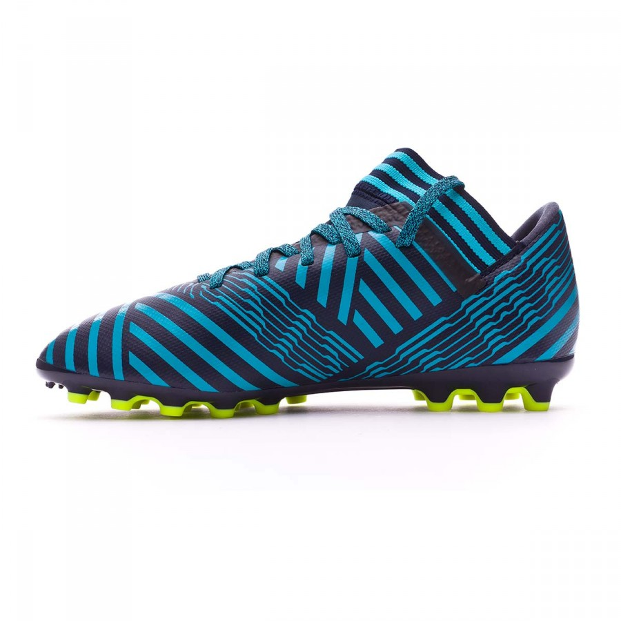 6c07b8551d3b7 Zapatos de fútbol adidas Nemeziz 17.3 AG Niño Legend ink- Solar  yellow-Energy blue - Tienda de fútbol Fútbol Emotion