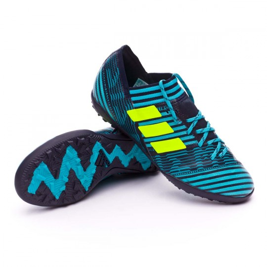 Zapatilla  adidas Nemeziz Tango 17.3 Turf Niño Legend ink-Solar yellow-Energy blue