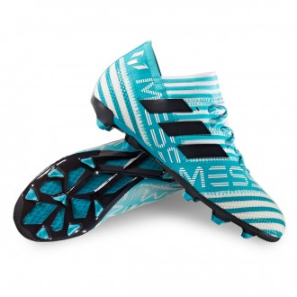 Jr Nemeziz Messi 17.1 FG White-Legend ink-Energy blue