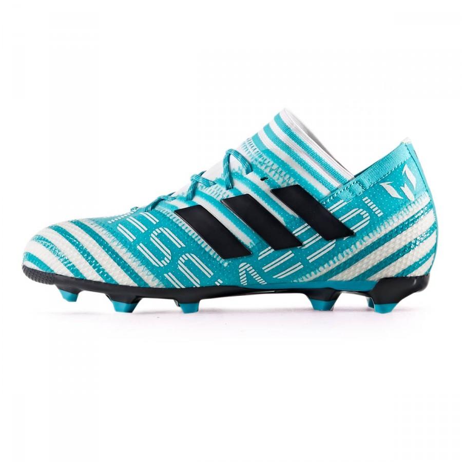 5799c8a8529 Football Boots adidas Kids Nemeziz Messi 17.1 FG White-Legend ink-Energy  blue - Football store Fútbol Emotion
