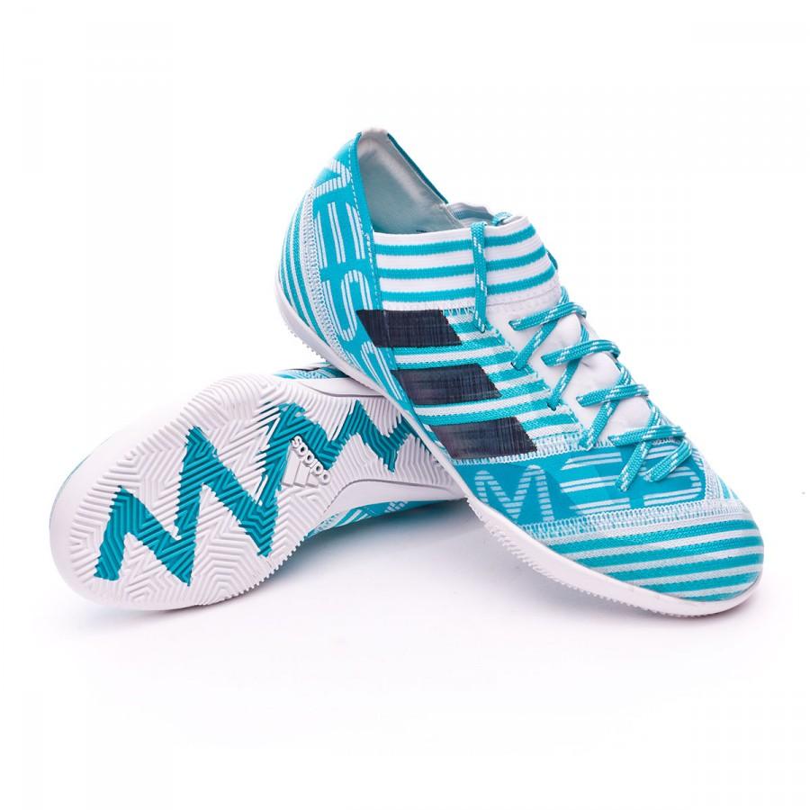 7fc525502bc6 Futsal Boot adidas Jr Nemeziz Messi Tango IN White-Legend ink-Energy ...