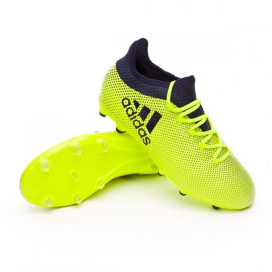 Bota  adidas X 17.1 FG Niño Solar yellow-Legend ink