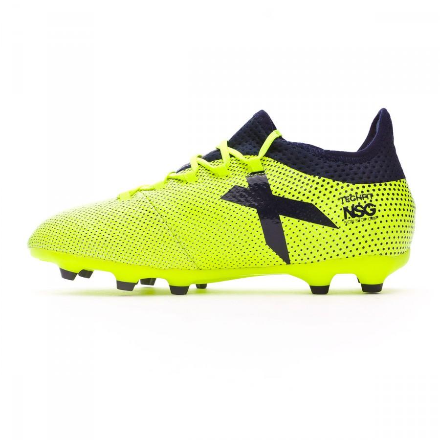 finest selection 4c854 e7851 Boot adidas X 17.1 FG Kids Solar yellow-Legend ink - Soloporteros es ahora  Fútbol Emotion