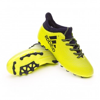 Bota  adidas X 17.3 AG Niño Solar yellow-Legend ink