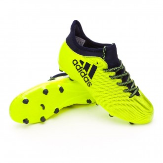 Bota  adidas X 17.3 FG Niño Solar yellow-Legend ink