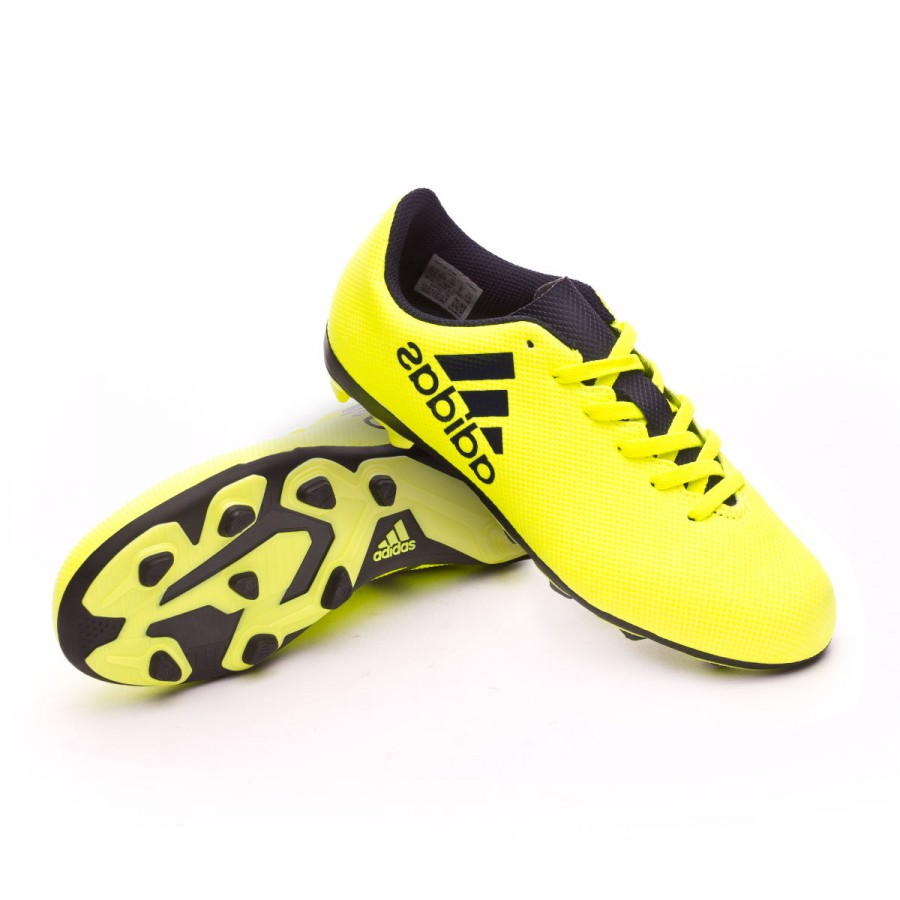 Bota X 17.4 FxG Niño Solar yellow Legend ink